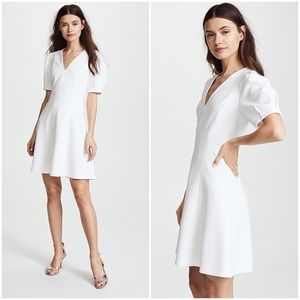 {rebecca taylor} structured a-line dress